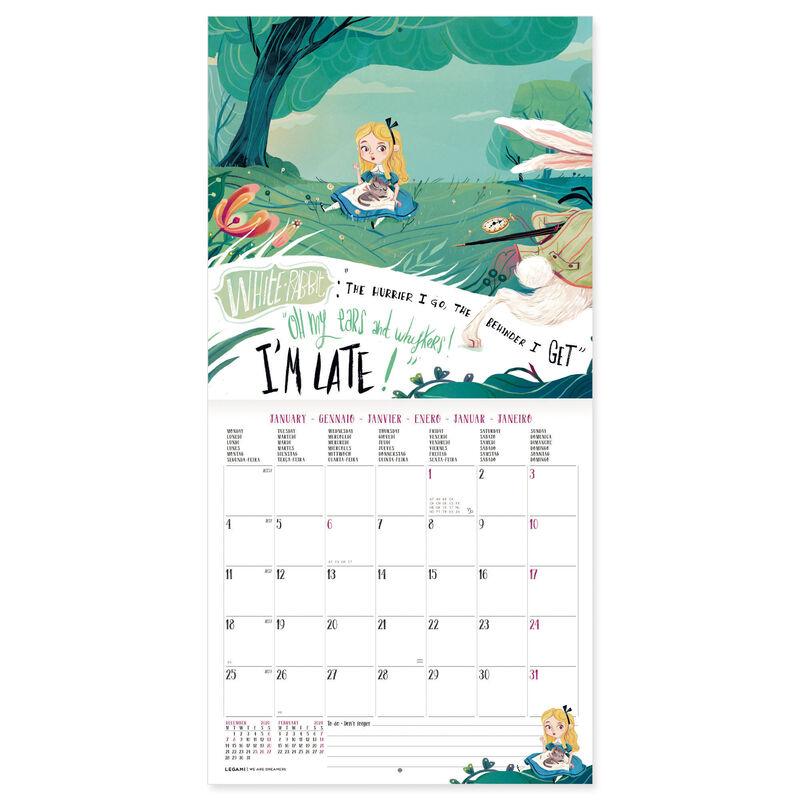 Calendario 2021 da Parete Legami