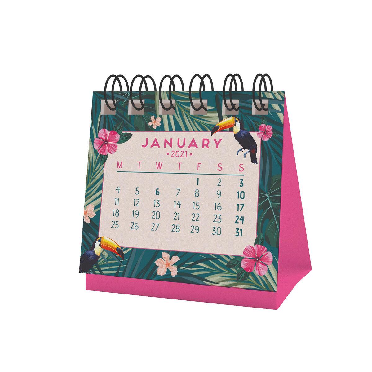 Micro Calendario   2021 TROPICAL | Legami.com