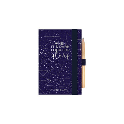 12-Month 2-Day Diary - Mini - 2021