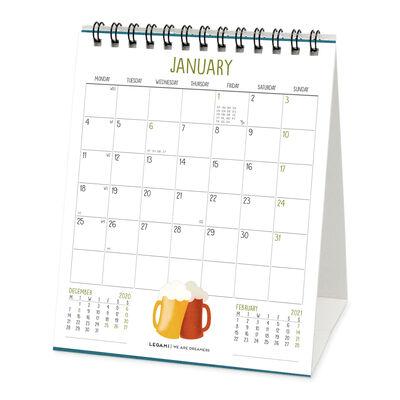 Desk Calendar 2021 - 12x14,5 Cm