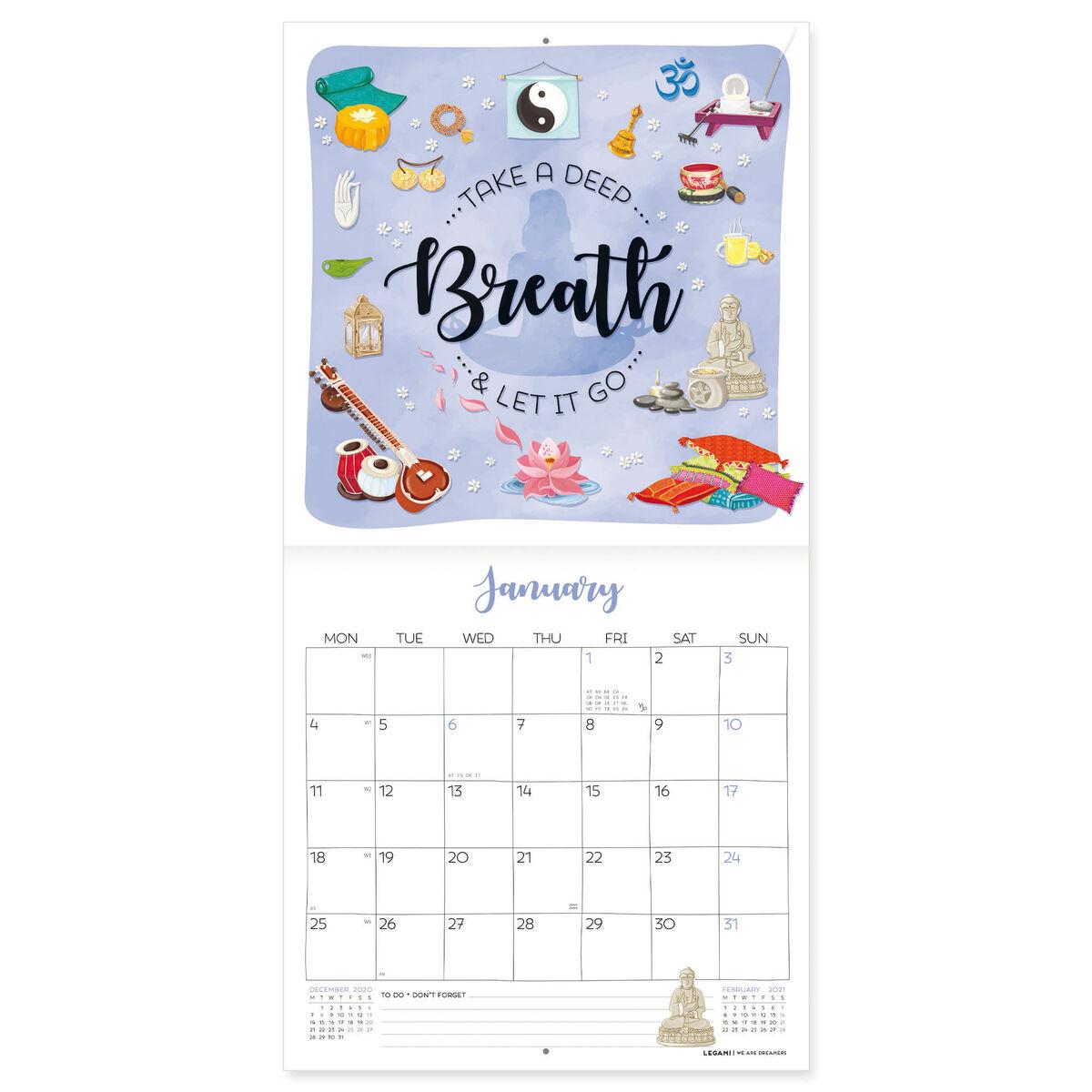 Wall Calendar 2021 - 18x18 Cm, , zoo