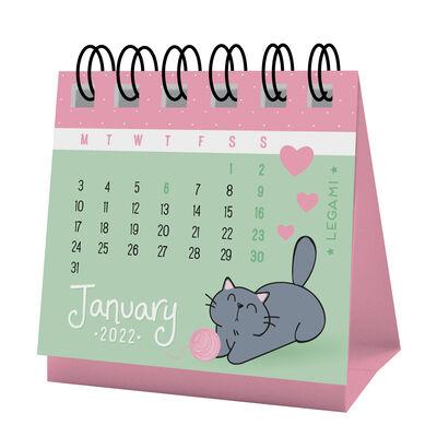 Micro Calendar 2022 - 5.8 X 5.3 Cm