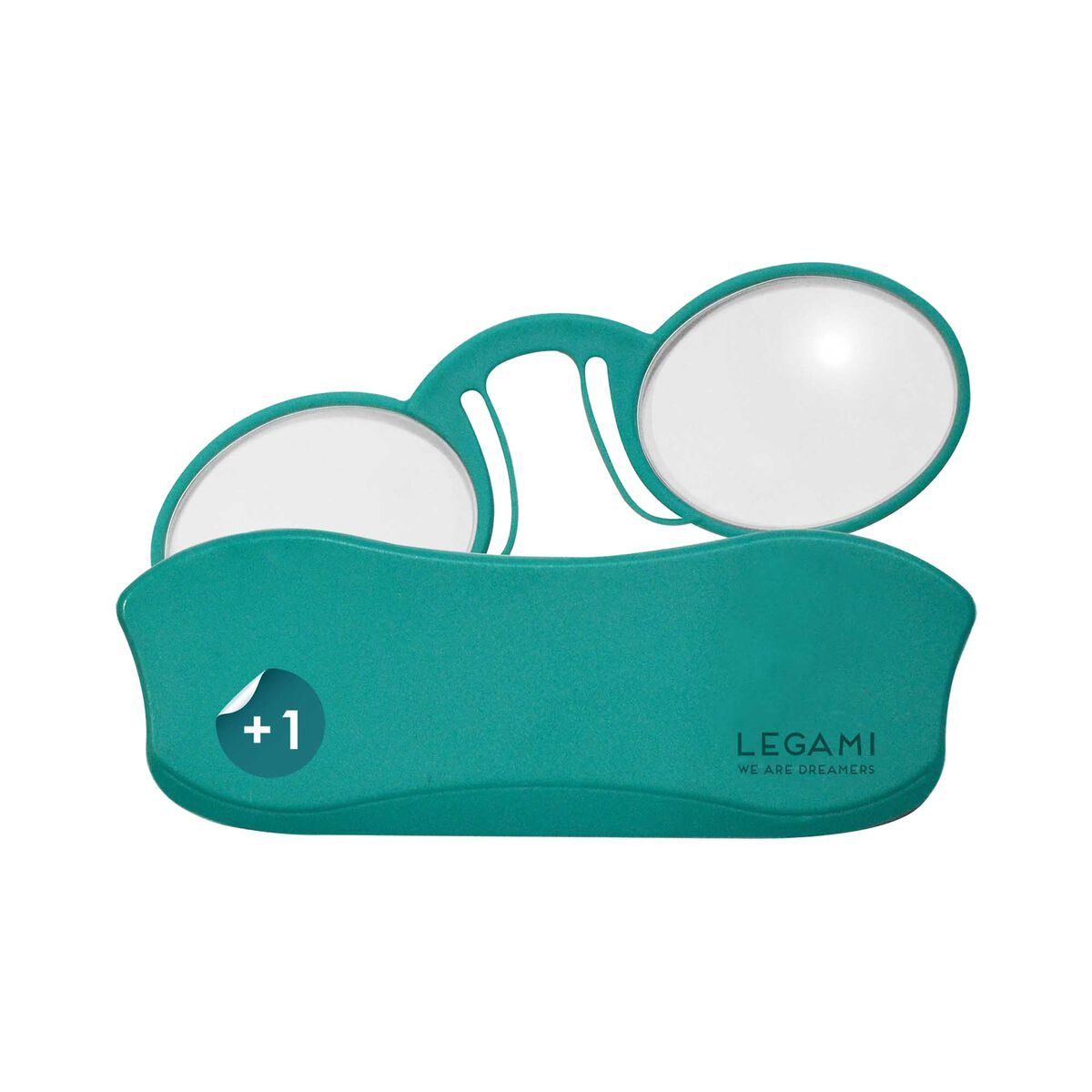 Mini Reading Glasses Pince-Nez - Reading Glasses, +1 Dioptre, , zoom