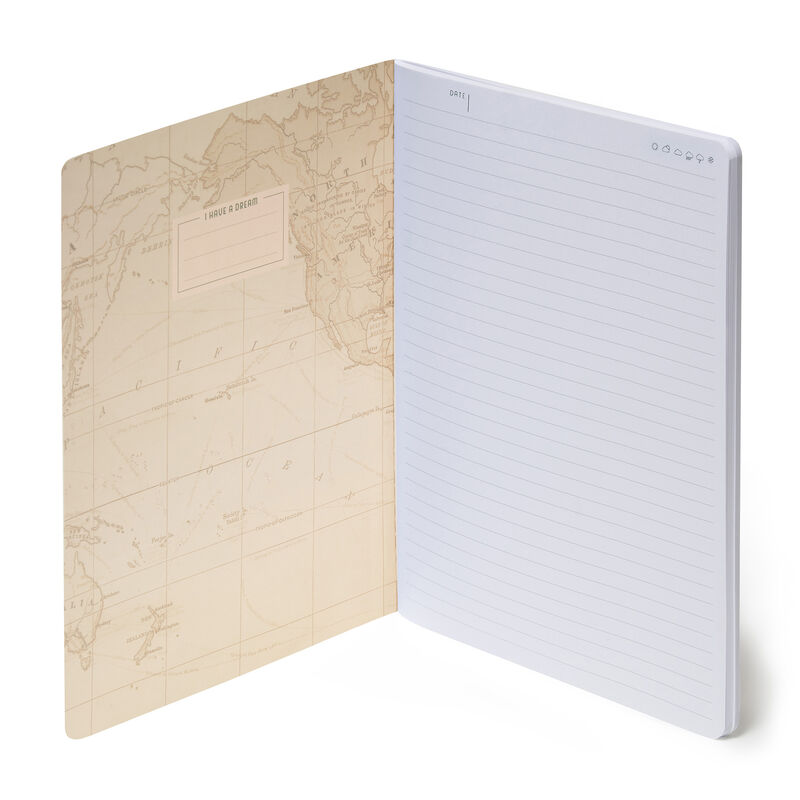 Lined Notebook - B5, , zoom