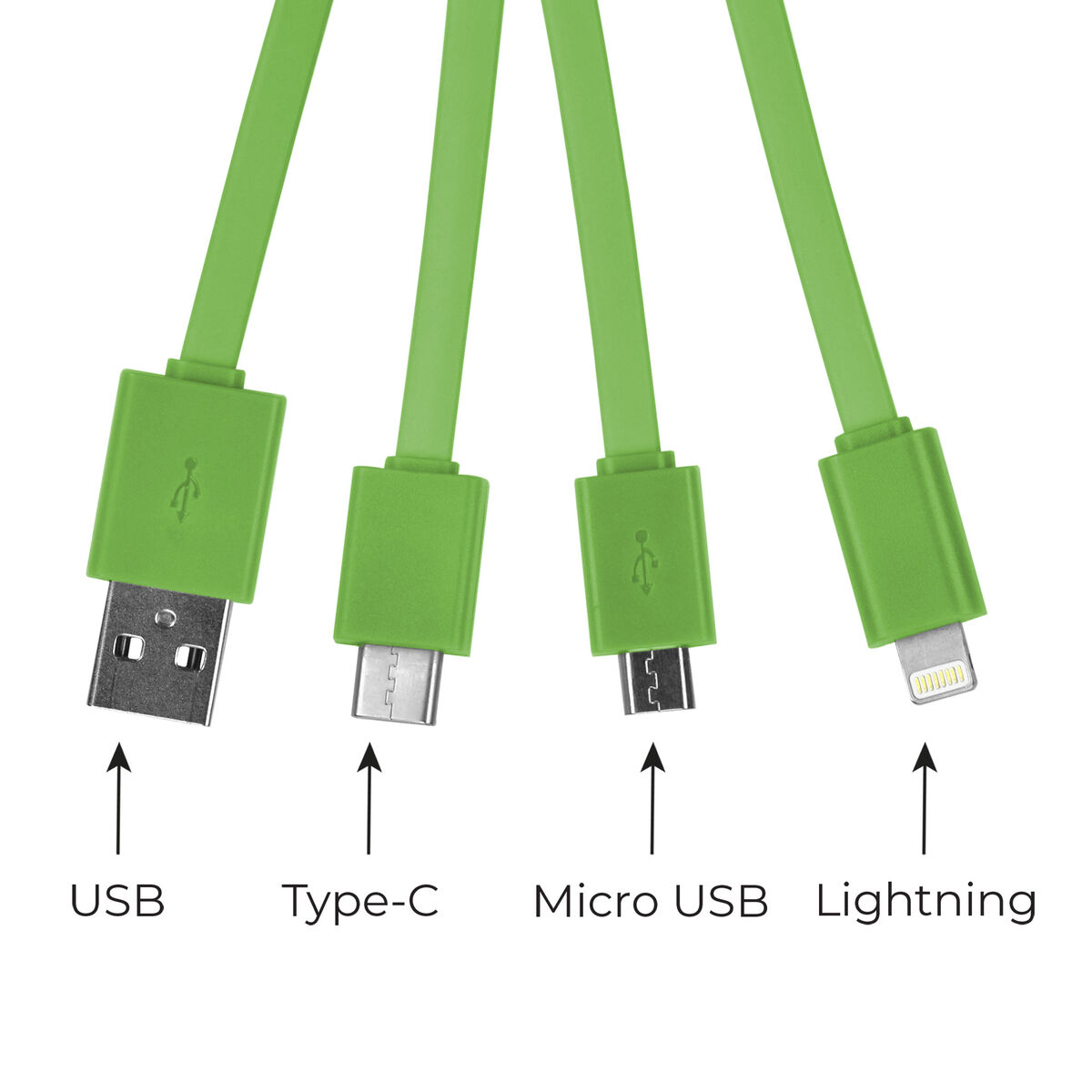 Link Up - Multiple Charging Cable, , zoo