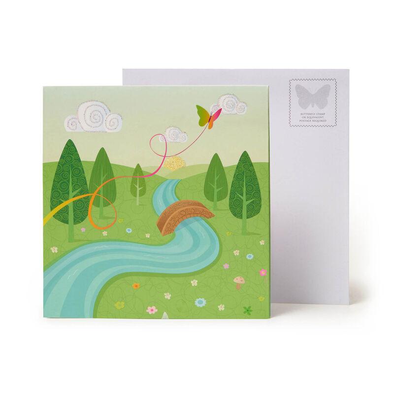 Large Pop Up Greeting Card - Unicorns, , zoo