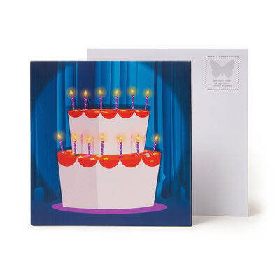 Large Pop Up Greeting Card - Beefcake