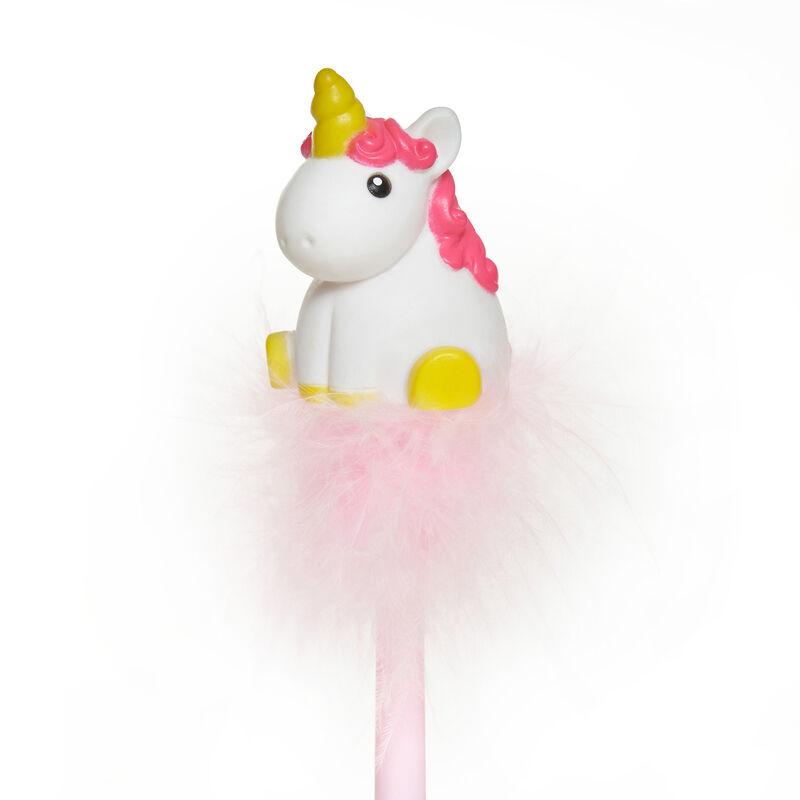 Writing Is Magic - Pen With Unicorn Light, , zoo