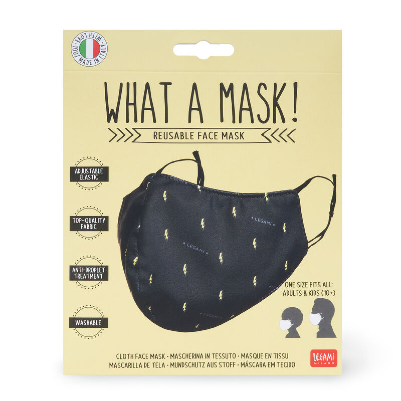 What a Mask! - Cloth Face Mask, , zoo