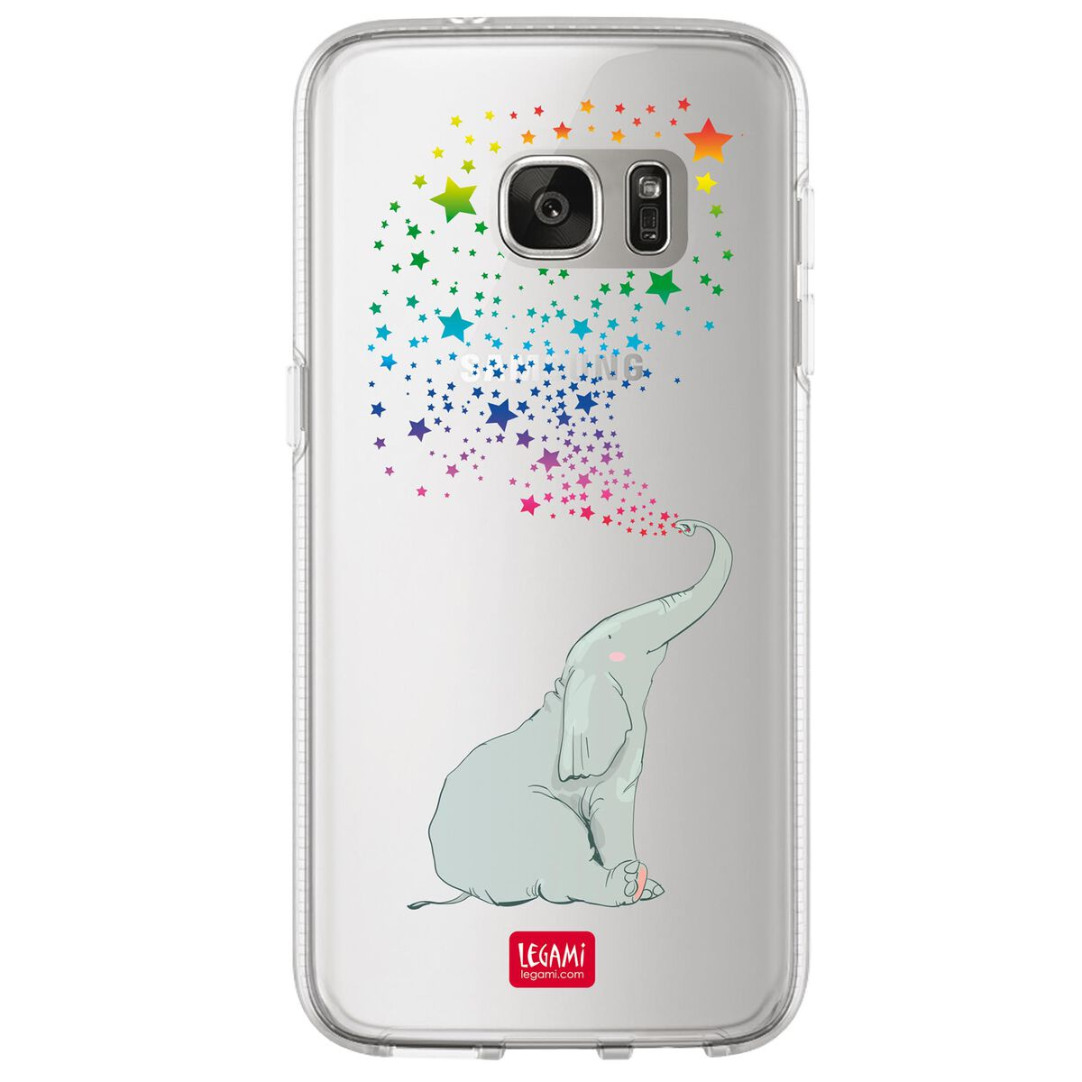 Clear Cover Samsung S7 Edge, , zoo