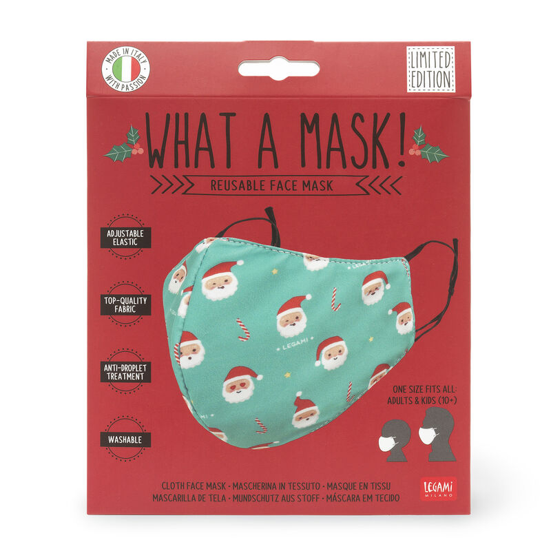 What a Mask! - Cloth Face Mask - Limited Edition, , zoo
