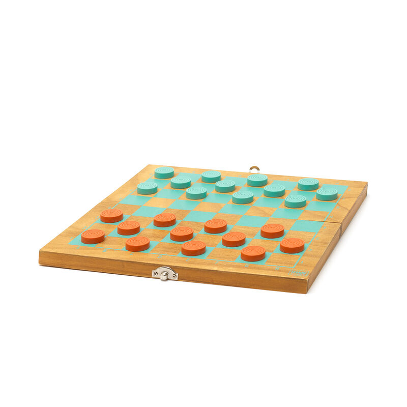 2-in-1 Chess and Draughts, , zoo