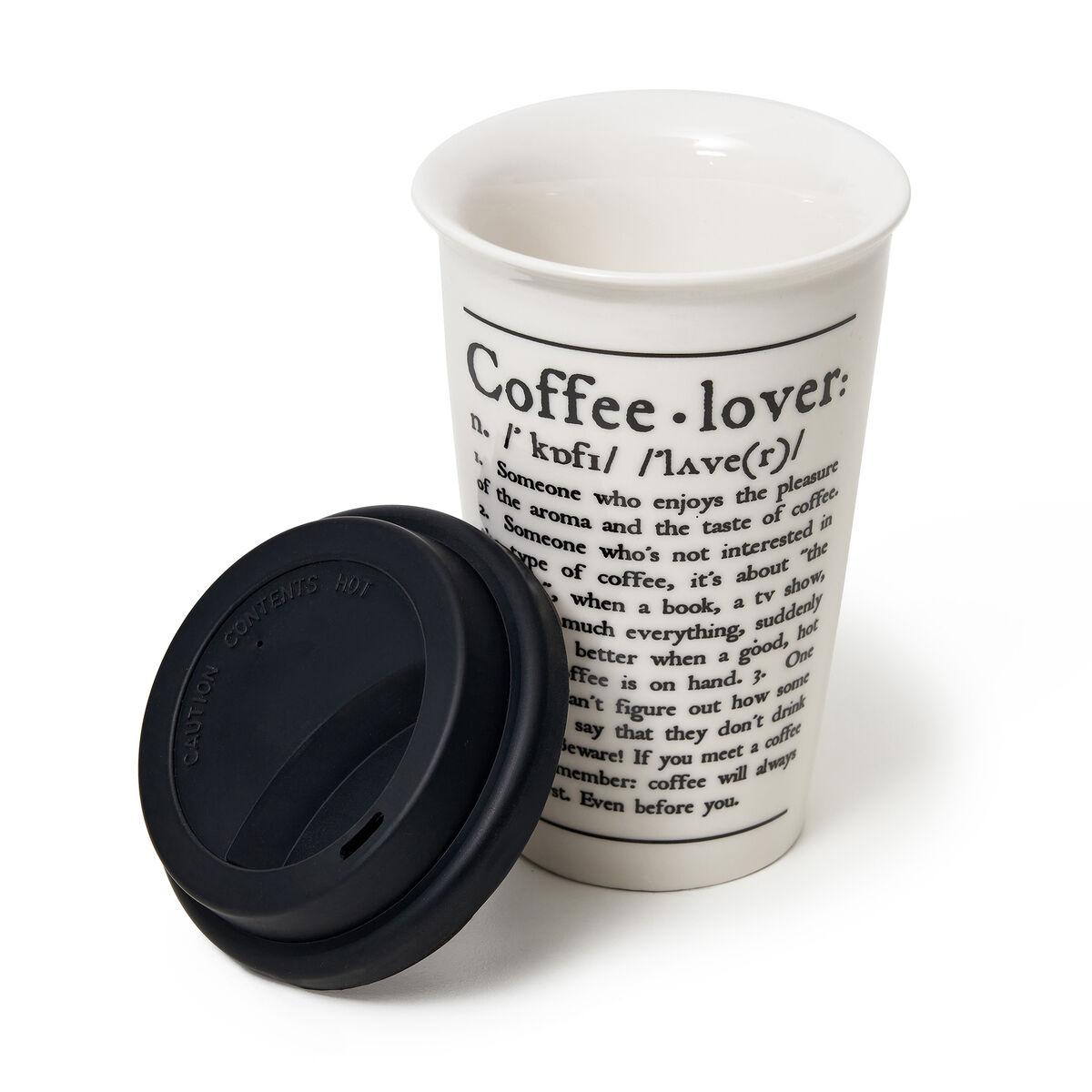 Tu Vuò Fa' L'Americano - Porcelain Mug, , zoom