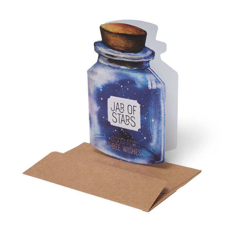 Cheers!Greeting Cards - For All Occasions - 11,5X17 Jar Of Stars, , zoom