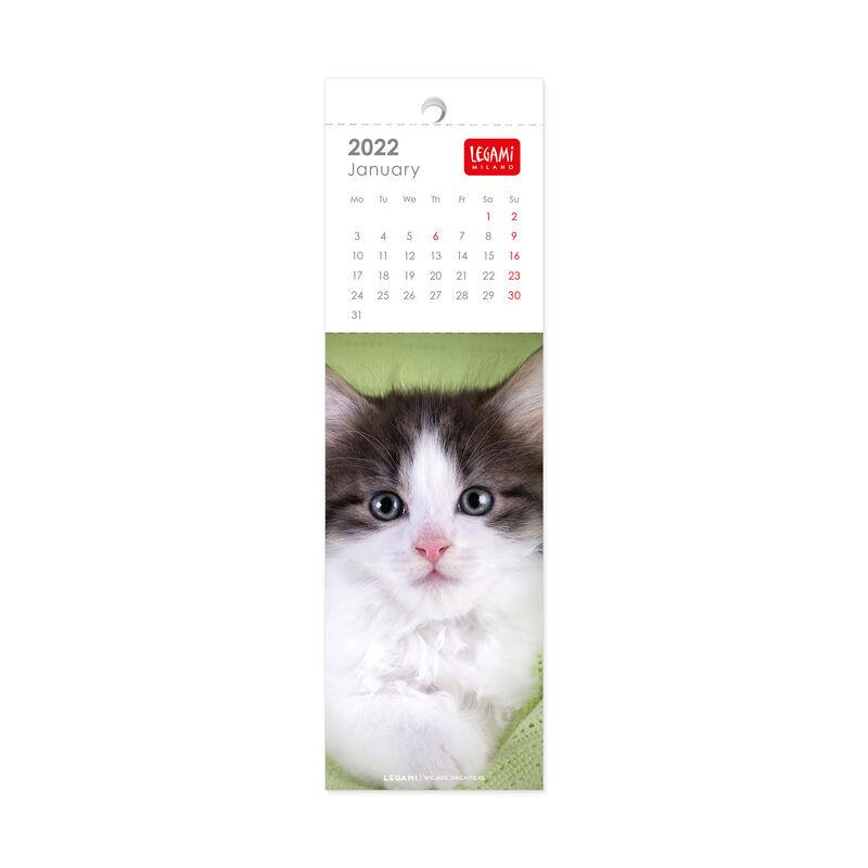 Bookmark Calendar 2022 - 5.5 X 18 Cm, , zoo