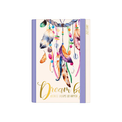 12-Month Daily Diary - Small - 2021