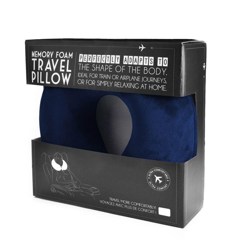 Memory Foam Travel Pillow, , zoo