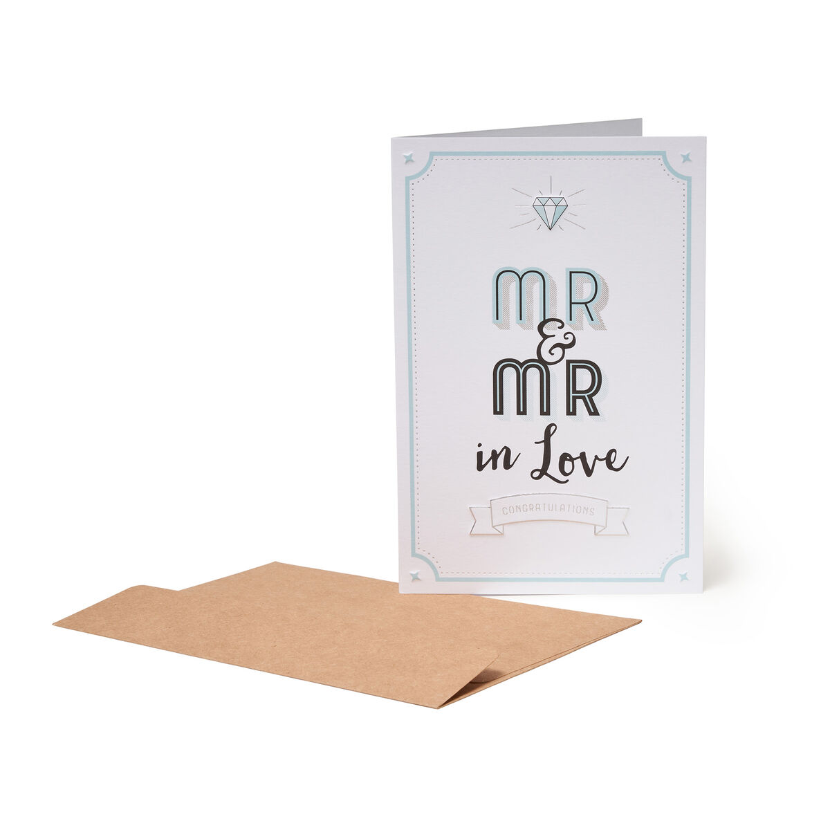 Greeting Cards Congratulations - Mr&Mr, , zoo