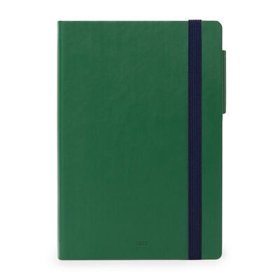 12-Month Weekly Diary - Medium - With Notebook - 2022