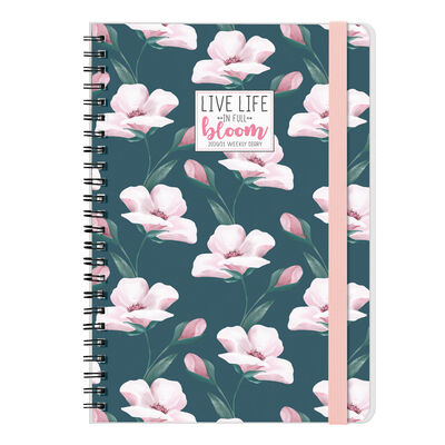 16-Month Weekly Diary - Large Spiral Bound - 2020/2021
