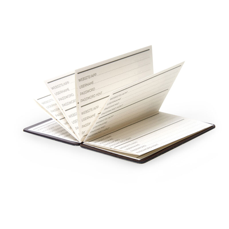 Sos Password Book To Record Usernames And Passwords, , zoo