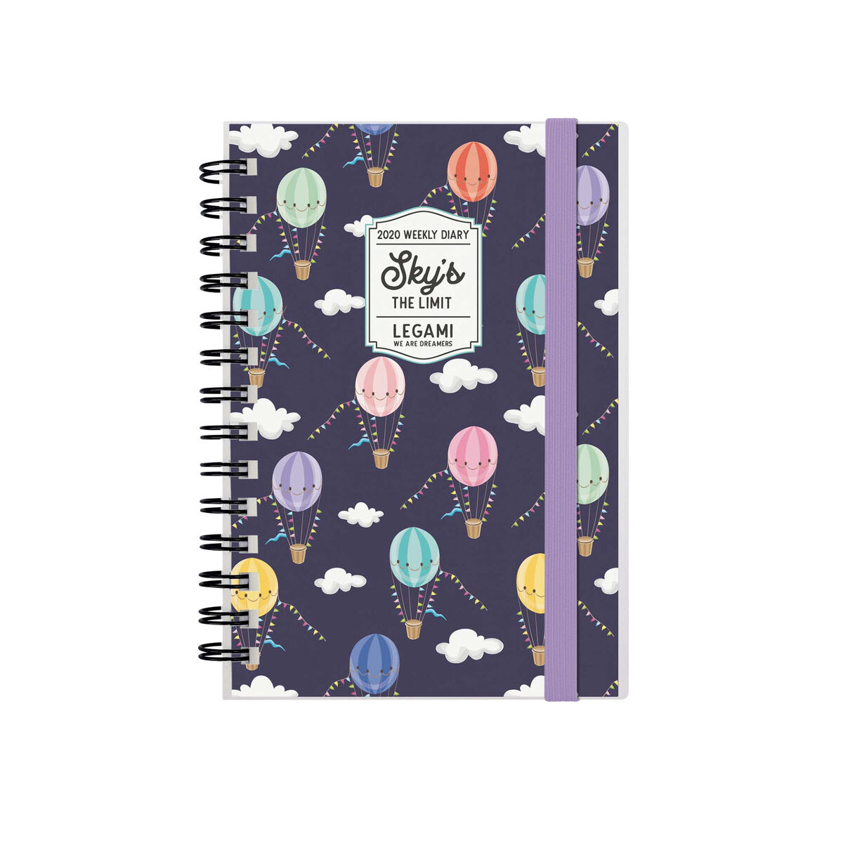 12-Month Weekly Small Photo Diary Spiral Bound - 2020, , zoom