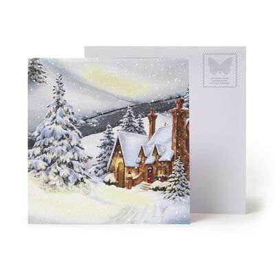 Christmas Pop Up Greeting Card - Large