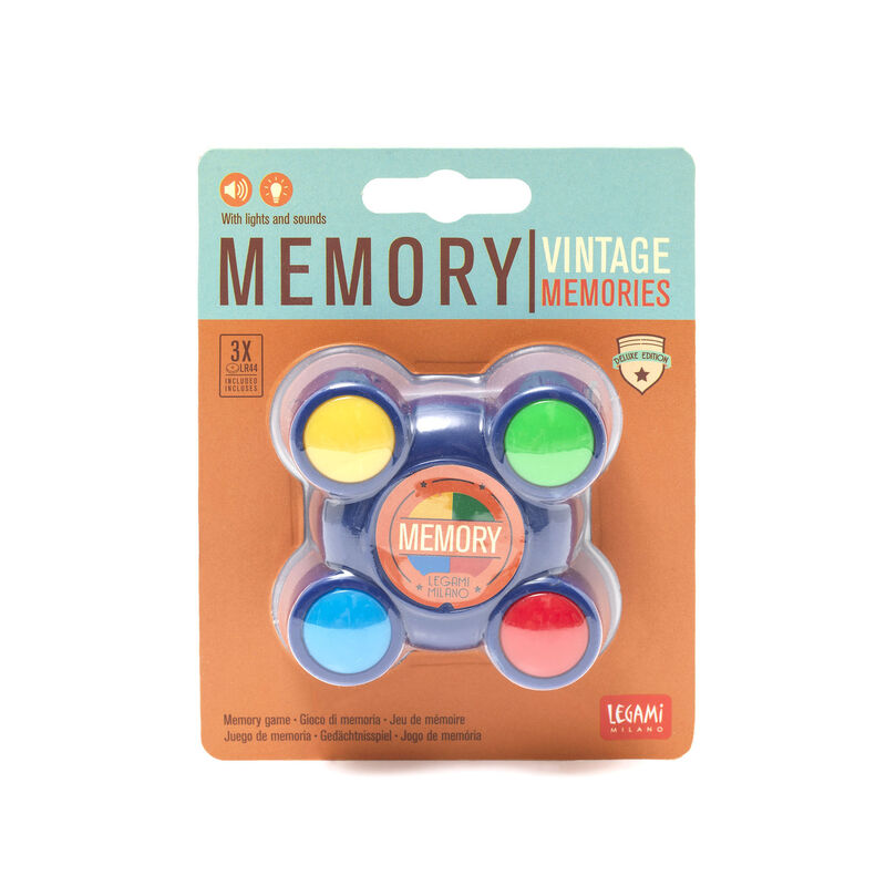 Memory - Gioco di Memoria Luminoso e Sonoro, , zoo