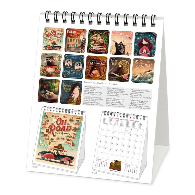 Desk Calendar 2021 - 12x14,5 Cm, , zoo