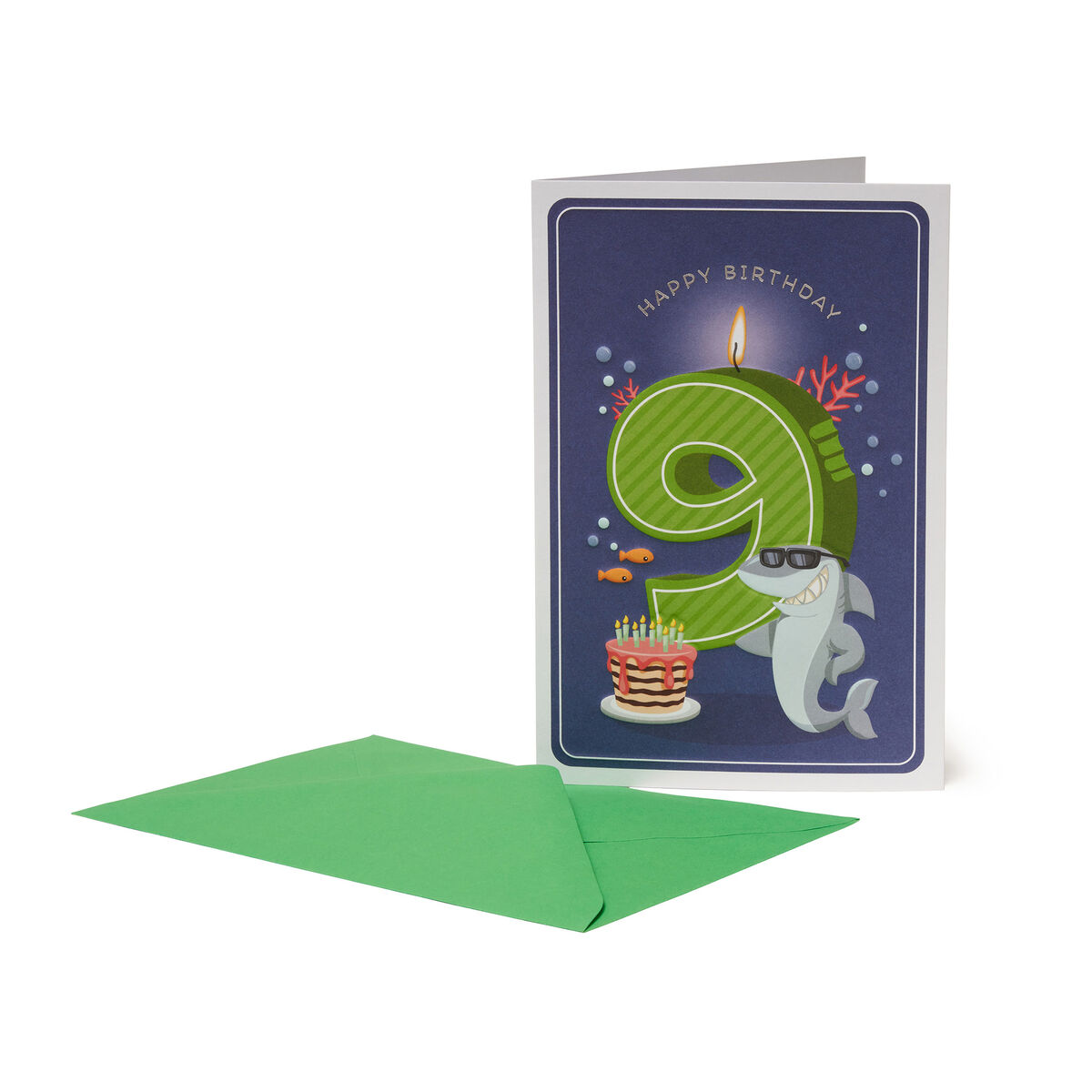 Greeting Card - Happy Birthday - Little Boys - 9 Years, , zoom