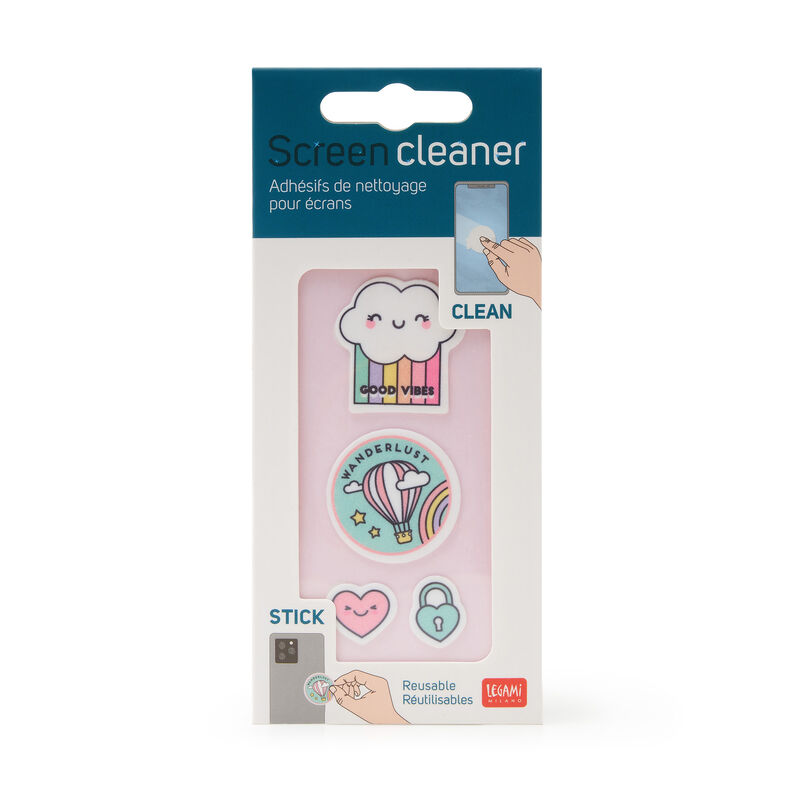 Screen cleaner stickers, , zoo