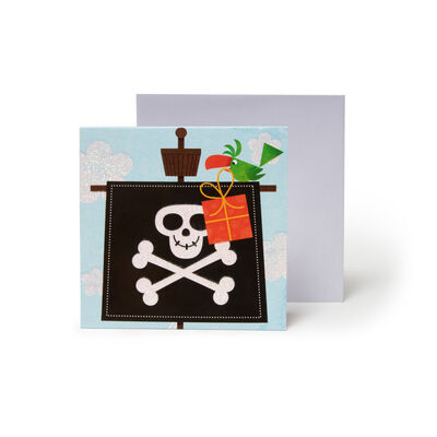 Small Pop Up Greeting Card - Little Argh Matey