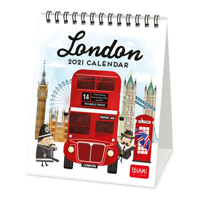 Desk Calendar 2021 - 12x14.5 Cm