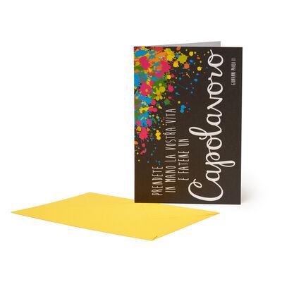 Greeting Card - Aphorism Giovanni Paolo Ii