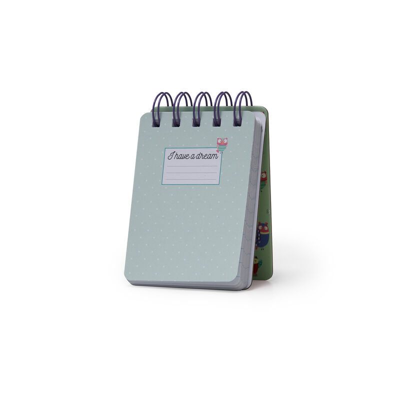 Mini Notebook With Spirals, , zoo