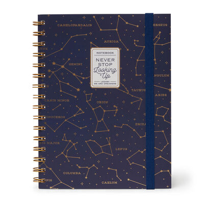 Lined Spiral Notebook A5