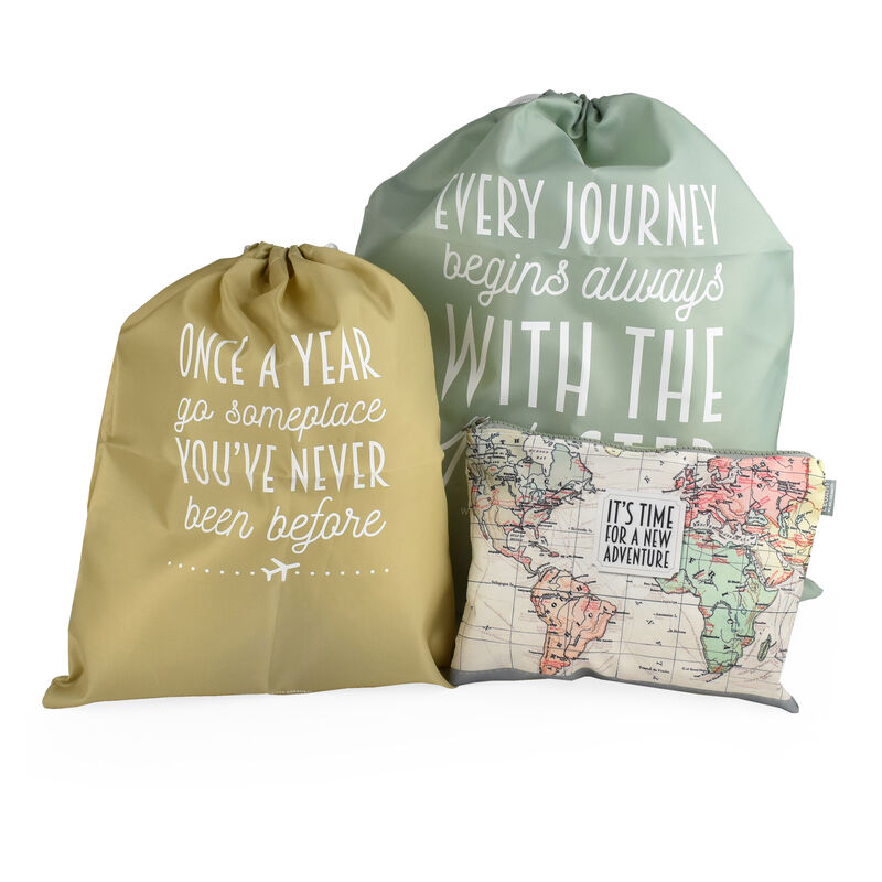Travel Bags - 3-Pouches Set, , zoom