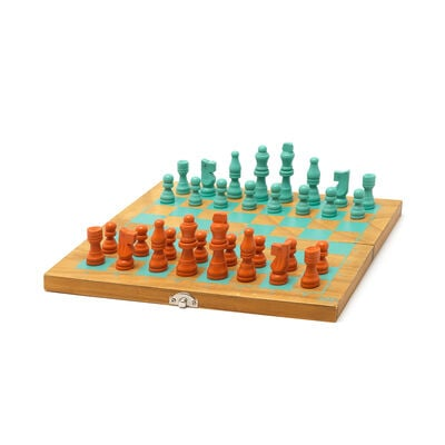 2-in-1 Chess and Draughts