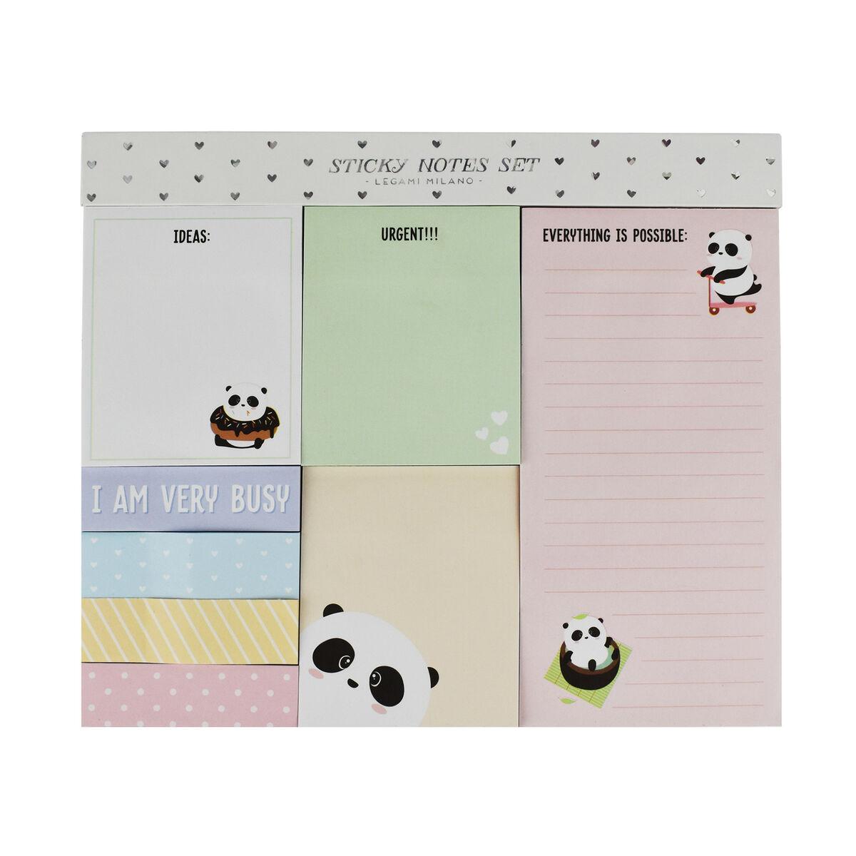 Sticky Note Set, , zoo