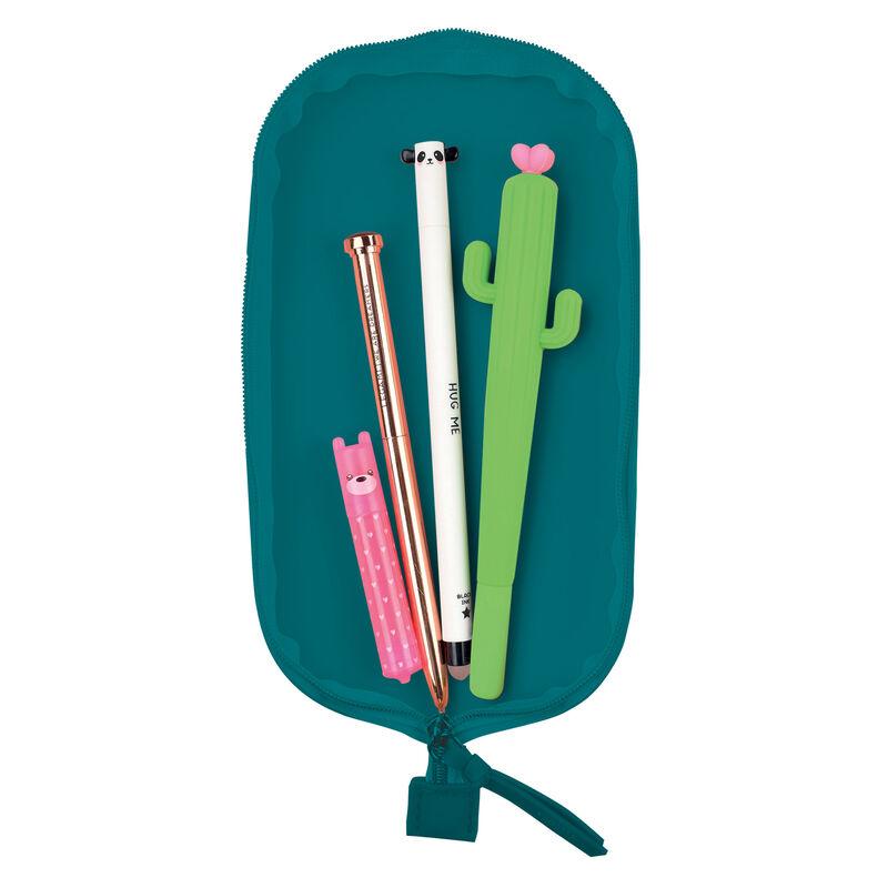 Cute! Soft Silicone Pencil Case, , zoo