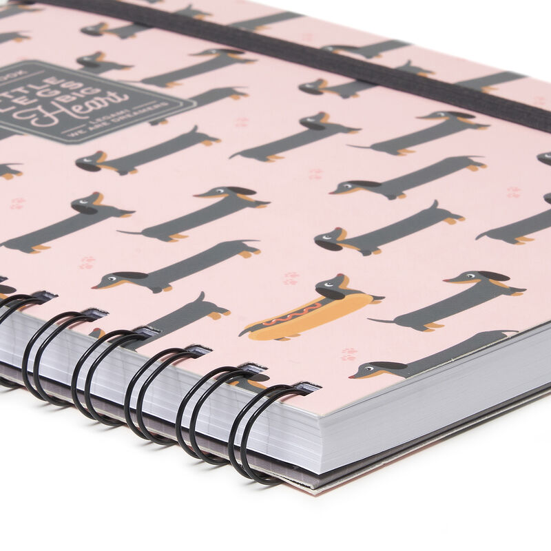 Lined Spiral Notebook A5, , zoom