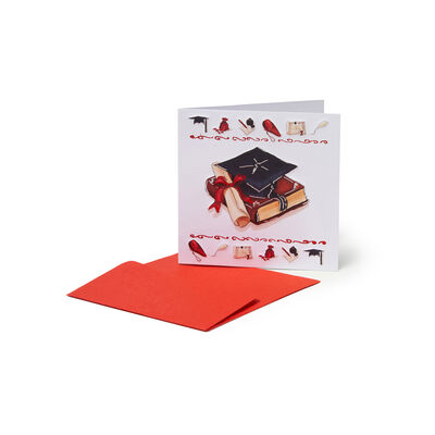 Greeting Cards - Congratulations - 7X7 Graduation Hat