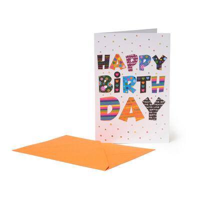 Biglietto di Auguri di Compleanno - Buon Compleanno