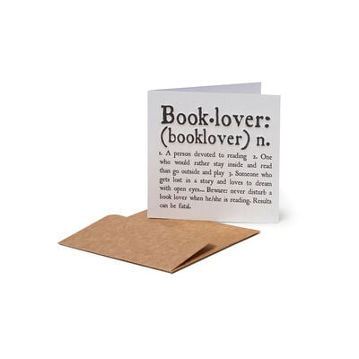 Greeting Cards - Booklover