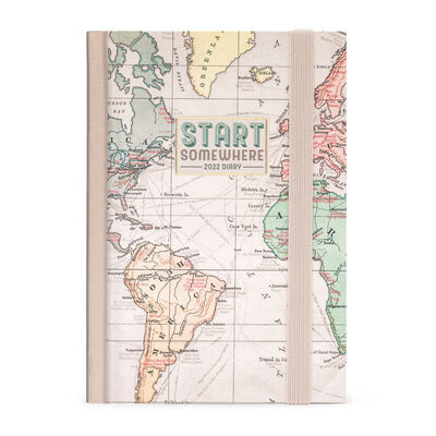 12-Month Daily Diary - Small - 2022
