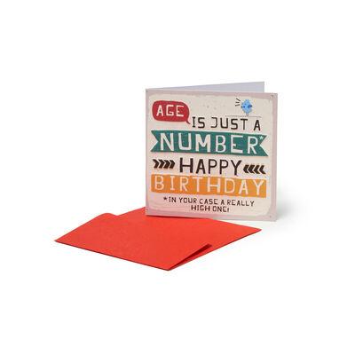 Greeting Cards - L'Etá È Solo Un Numero