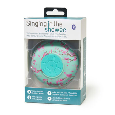 Singing in the Shower - Water-resistant Bluetooth® Hands-free Speaker