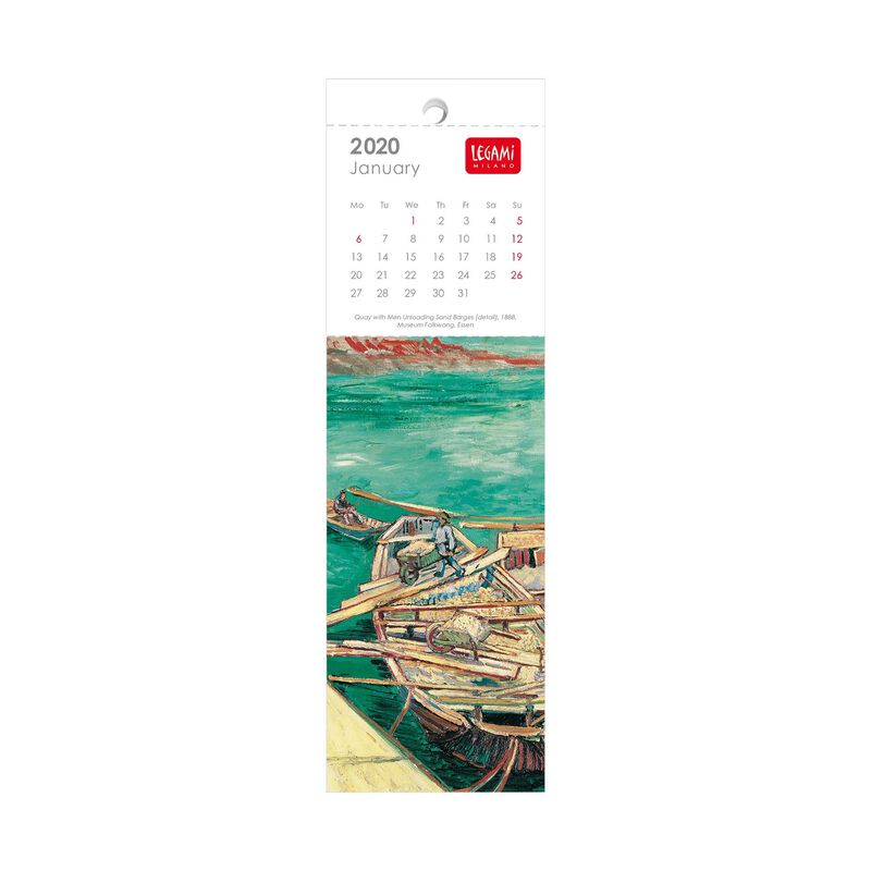 2024 - Bookmark Calendar - 5,5X18 Cm, , zoom