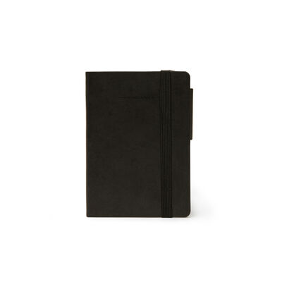 SMALL BLACK NOTEBOOK - PLAIN PAPER