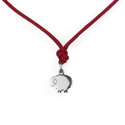 Lost Bonds - Silver Pendant - Sheep